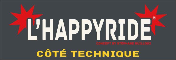 HappyRide coté technique