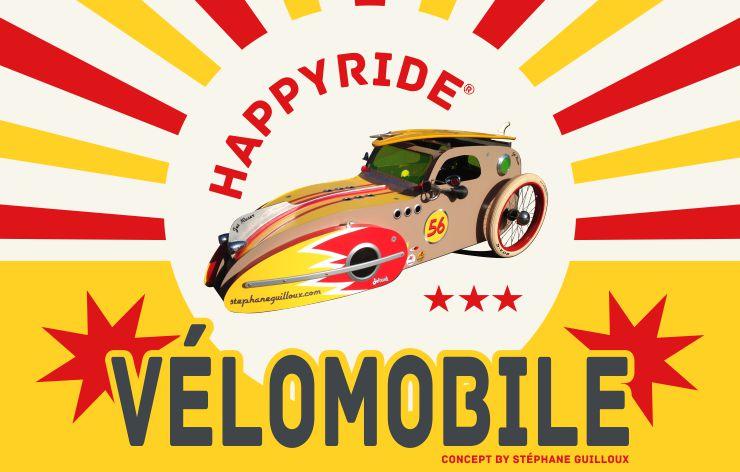 HappyRide vélomobile by Stéphane Guilloux